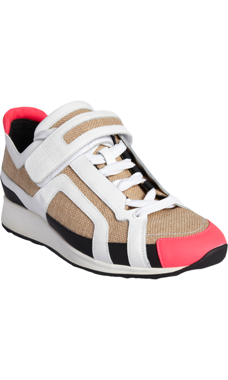 Pierre Hardy Lace Up Front Sneakers