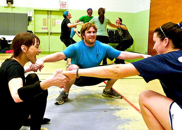 Punk Rope jump rope class in NYC's Union Square Y