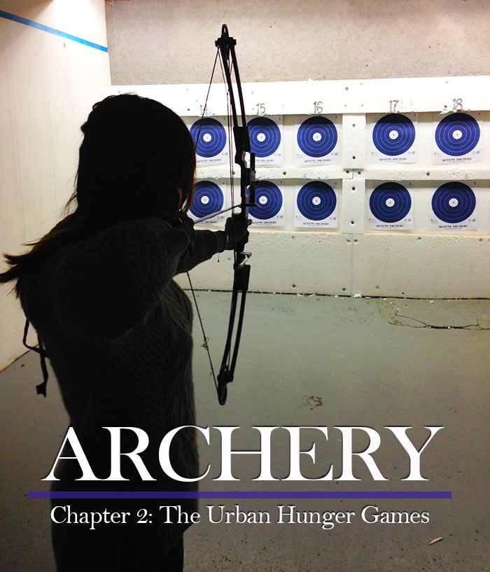 archery at big apple archery, a great winter workout