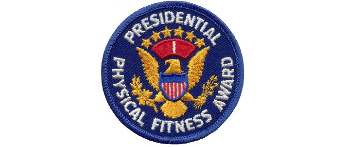 Presidential physical Fitness Award