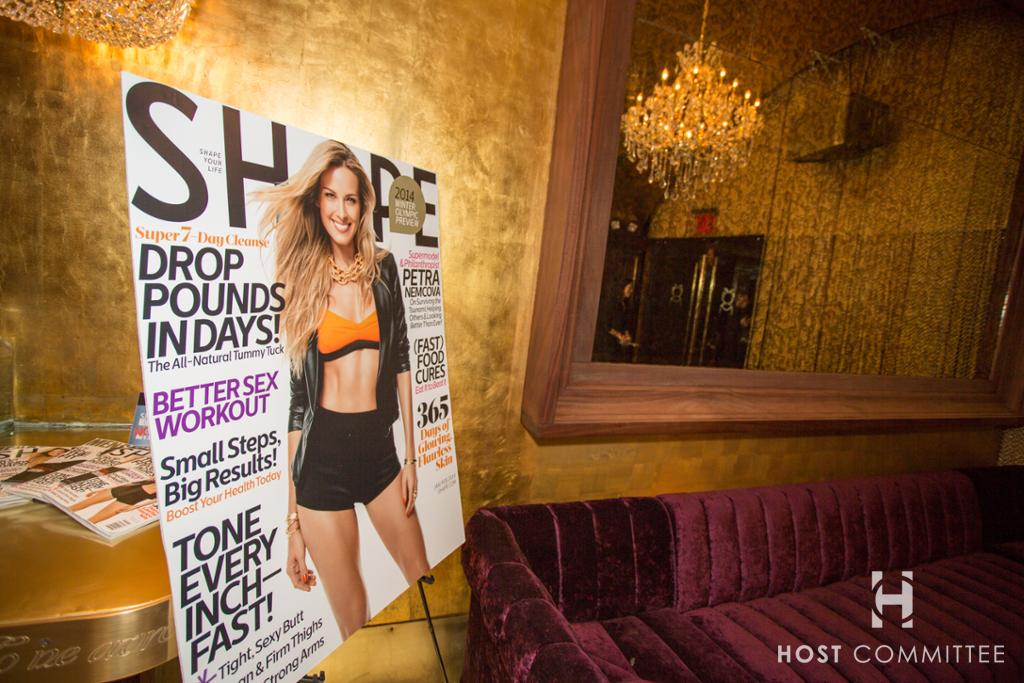 Gold Bar, Shape Magazine No-Gym-Night Mixer with Host Committee