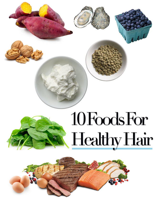 10 foods for healthy hair