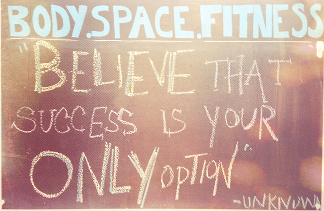 Workout Motivation from Body Space Fitness