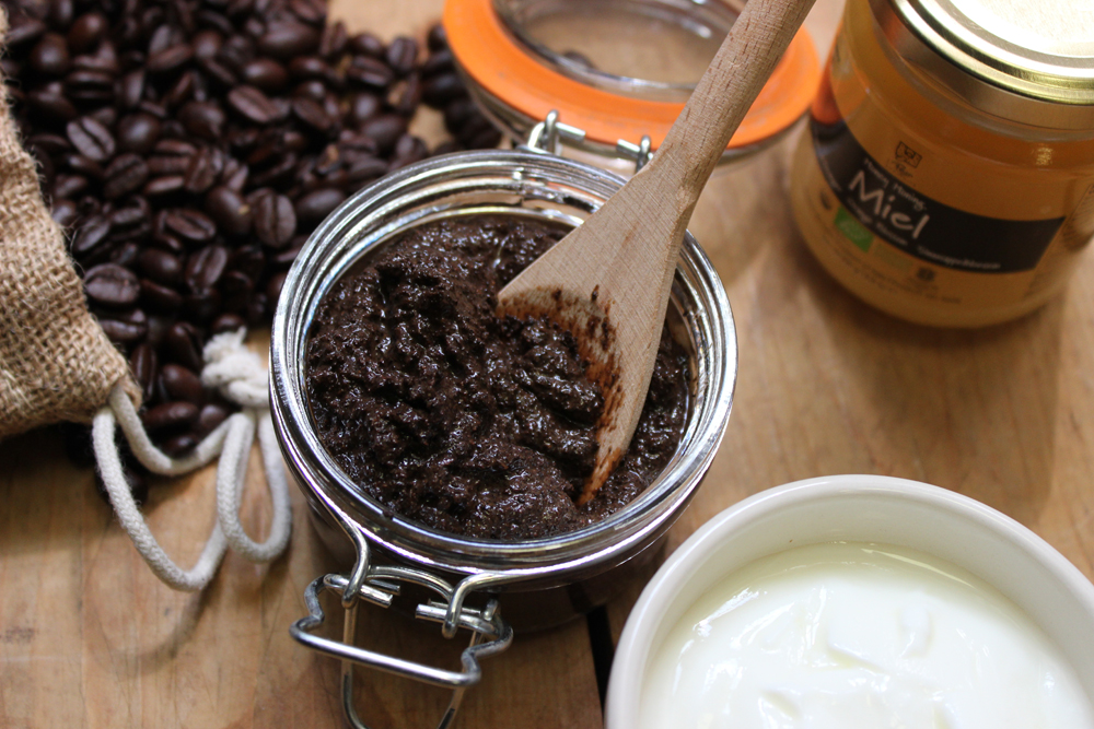 Organic Coffee Honey Mask