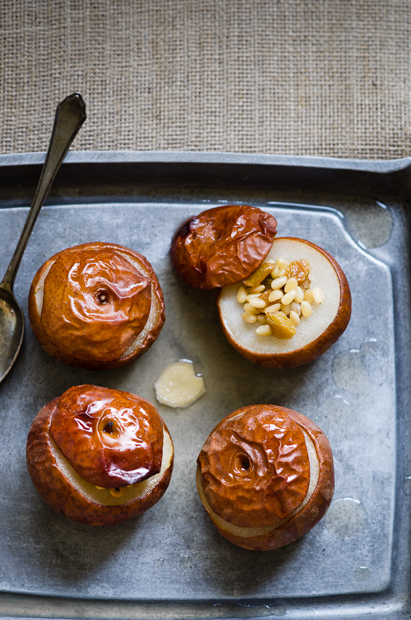 Baked Asian Pears
