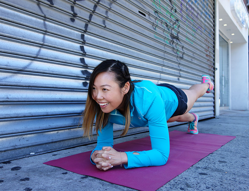The One Ab Exercise You Should Be Doing : The Plank