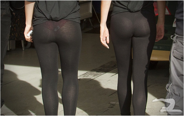 Fitness trends to say goodbye to in 2015: see-thru yoga pants