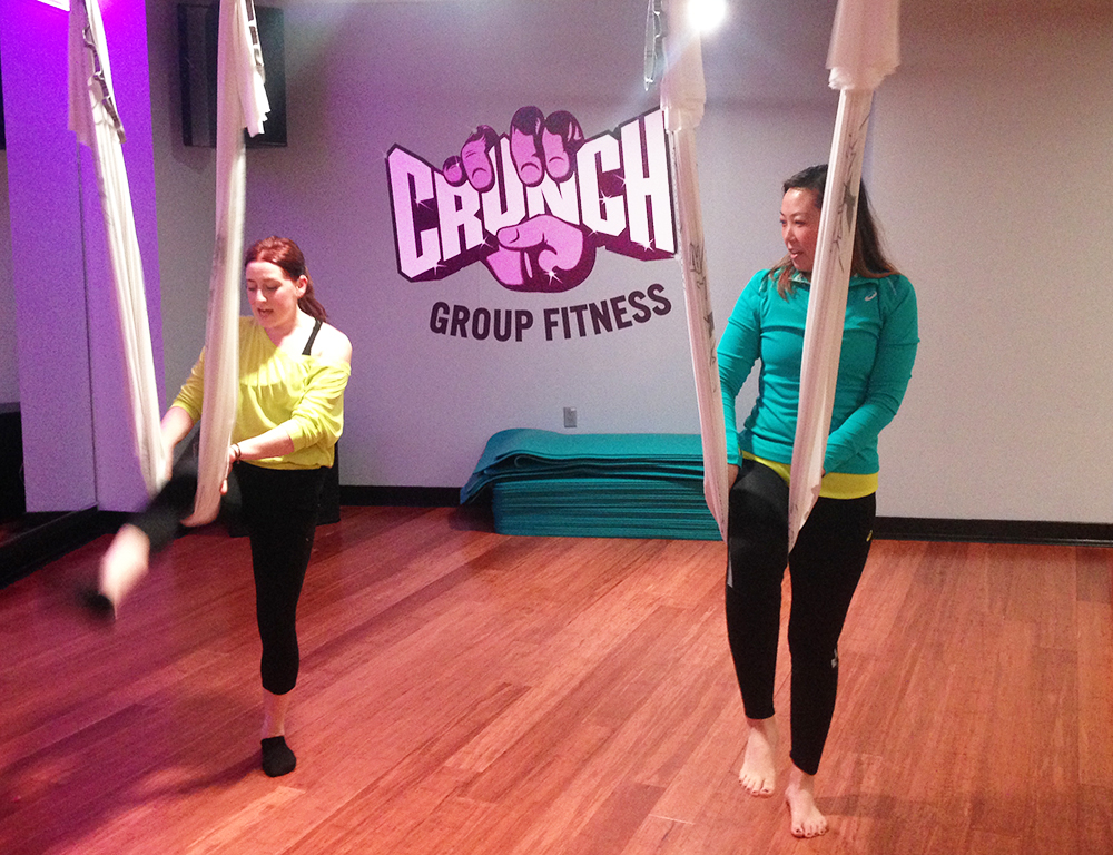 Airbarre by AntiGravity at Crunch
